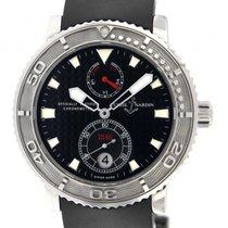 Ulysse Nardin Maxi Marine Diver pre-owned 40mm Black Date Rubber