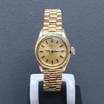 Rolex Ouro amarelo Automático Ouro Sem números usado Oyster Perpetual 26