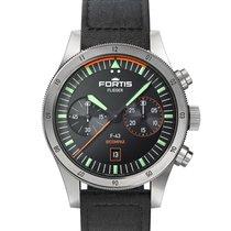Fortis F-43 Steel 43mm Black
