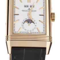 Jaeger-LeCoultre Reverso Duoface Rose gold 50mm Silver United States of America, Illinois, BUFFALO GROVE