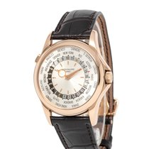 Patek Philippe World Time Rose gold 39.5mm Silver Arabic numerals United States of America, New York, Hartsdale