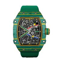 Richard Mille Carbon 38.7mm Automatic RM67-02 new