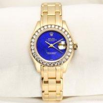 Rolex Lady-Datejust Pearlmaster Желтое золото 29mm