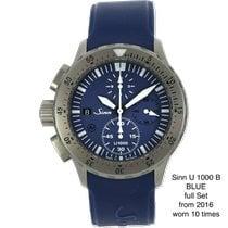 Sinn U1000 Steel 44mm Blue No numerals