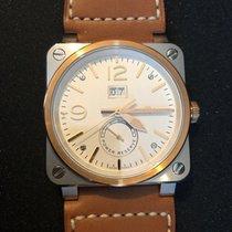 Bell & Ross BR 03-90 Grande Date et Reserve de Marche Gold/Steel 42mm White Arabic numerals