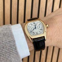 Cartier Tortue Желтое золото Белый