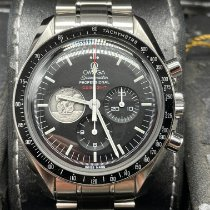 Omega Speedmaster Professional Moonwatch Çelik 42mm Siyah Rakamsız
