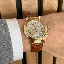 Cartier Pasha C Желтое золото 36mm Cеребро Aрабские
