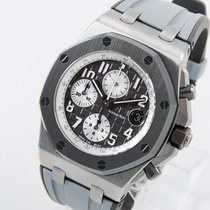 Audemars Piguet Titan Automatik Grau Arabisch 42mm neu Royal Oak Offshore Chronograph
