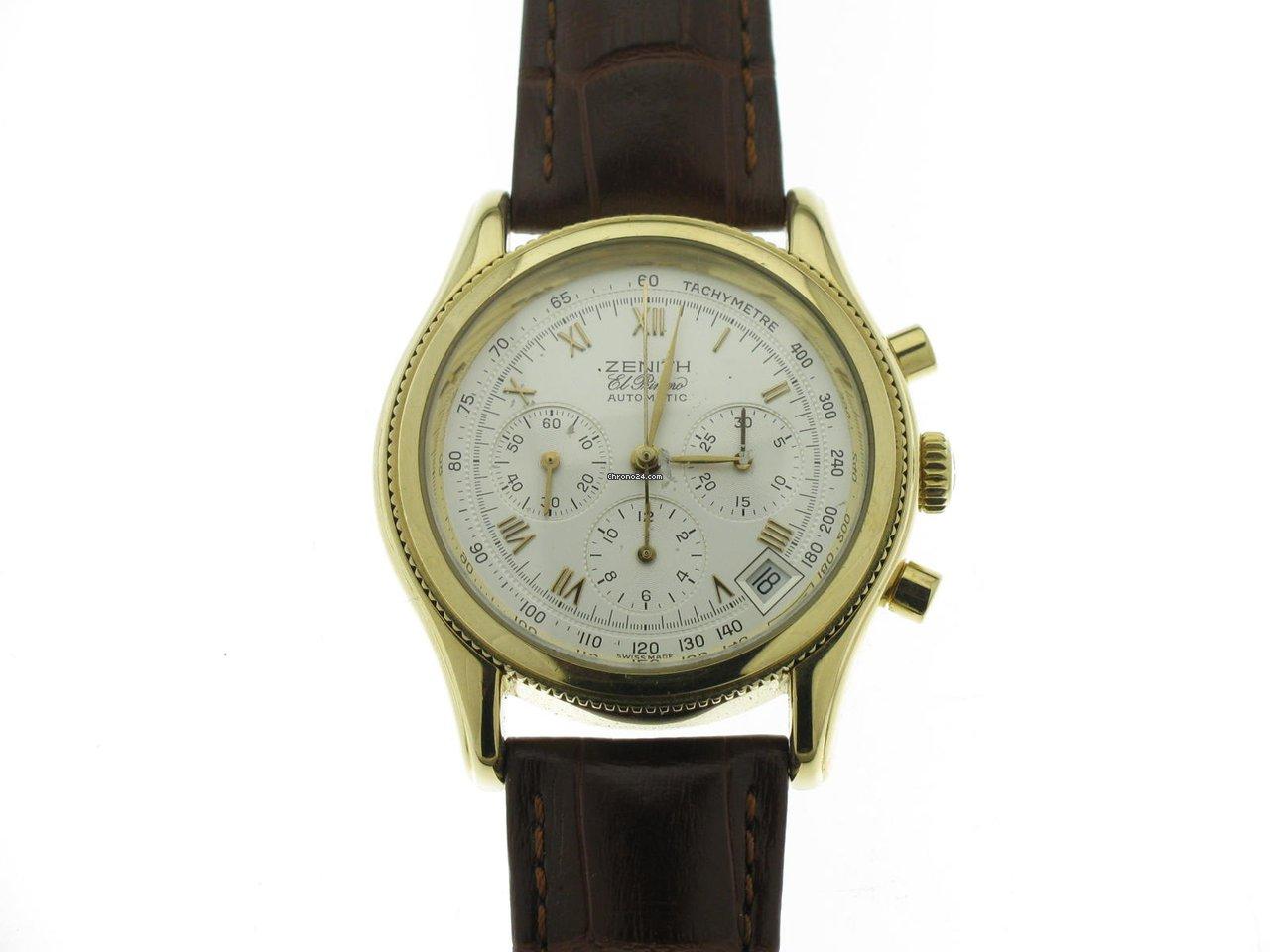 Zenith El Primero Chronograph 06.0210.400 1994 pre-owned