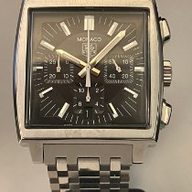 TAG Heuer pre-owned Automatic 38mm Black Plexiglass 3 ATM