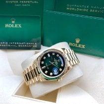 Rolex Day-Date 36 Oro amarillo 36mm Verde Sin cifras España, Madrid