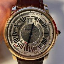 Cartier Rotonde de Cartier Roségold 45mm Silber