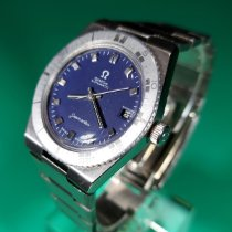 Omega pre-owned Automatic 35mm Blue Plastic