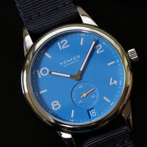 NOMOS Steel 41.5mm Automatic CL151011SB2 pre-owned