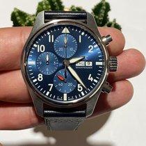 IWC Pilot Chronograph Steel Blue United States of America, Iowa, Des Moines