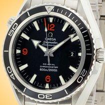 Omega Seamaster Planet Ocean Steel 45.5mm Black Arabic numerals United States of America, Illinois, Northfield