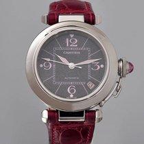 Cartier Pasha C Stahl 35mm Schwarz