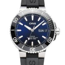Oris Hammerhead Limited Edition Steel 45.5mm Blue
