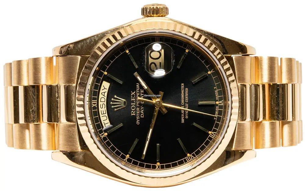 Rolex Day-Date 36 18038 1979 подержанные