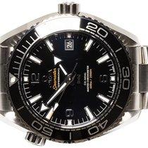 Omega Seamaster Planet Ocean Steel 43.50mm Black Arabic numerals