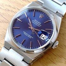 Rolex Datejust Oysterquartz Steel 36mm Blue No numerals