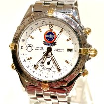Breitling Duograph Gold/Steel 39mm White