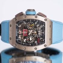 Richard Mille White gold 50mm Automatic RM011 pre-owned