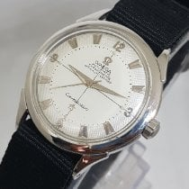 Omega Constellation pre-owned 35mm White Textile