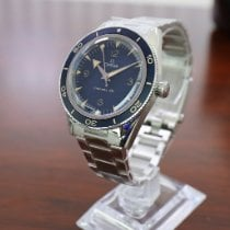 Omega Seamaster 300 Steel 41mm Blue Arabic numerals