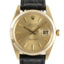 Rolex Oyster Perpetual Date 1501 Foarte bună Aur galben 34mm Atomat