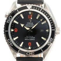 Omega Seamaster Planet Ocean Steel 45.5mm Black