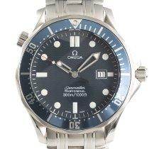 Omega Seamaster Diver 300 M Сталь 41mm Синий