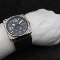 柏莱士 BR 03-51 GMT 二手 42mm 黑色 日期 格林尼治标准时间(GMT) 橡胶
