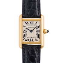 Cartier W1529856 Yellow gold Tank Louis Cartier 29.5mm pre-owned