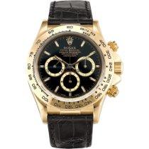 Rolex Daytona 16518 Foarte bună Aur galben 40mm Atomat