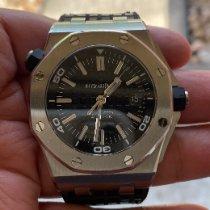 Audemars Piguet Royal Oak Offshore Diver Сталь 42mm Черный Без цифр
