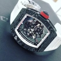 Richard Mille Ceramic 49.9mm Manual winding RM55 NTPT Japan pre-owned Indonesia, Jakarta