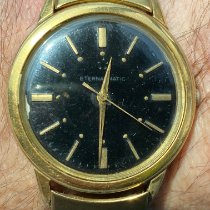 Eterna Matic Gold/Steel 34mm Black No numerals United States of America, New Jersey, Upper Saddle River