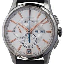 Zenith El Primero Winsor Annual Calendar Steel 42mm Silver United States of America, Texas, Austin