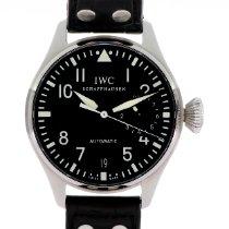 IWC Big Pilot Сталь 46mm Черный Aрабские