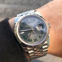Rolex Datejust novo 2021 Automático Relógio com caixa e documentos originais 126234