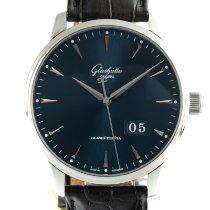 Glashütte Original Senator Excellence Steel 42mm Blue
