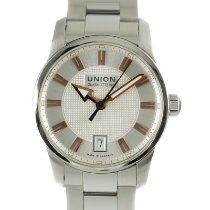 Union Glashütte Seris Steel 35.5mm Silver
