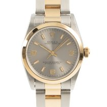 Rolex Oyster Perpetual 31 Gold/Steel 31mm Silver