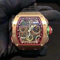 Richard Mille RM65-01 Růžové zlato 49.94mm nové