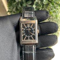 Jaeger-LeCoultre Grande Reverso Ultra Thin 1931 White gold Black