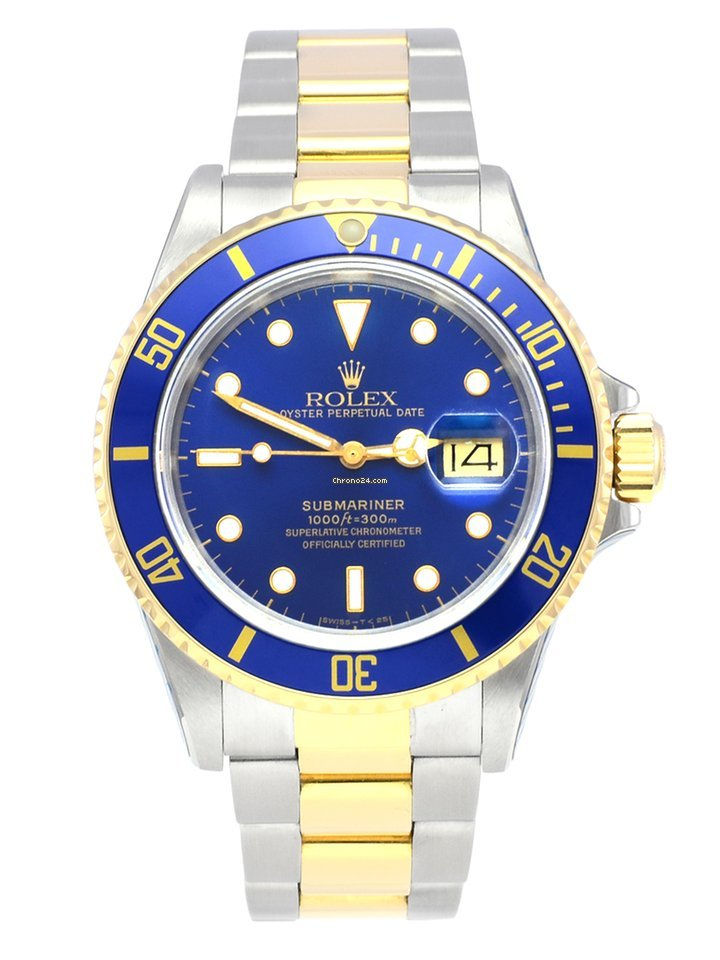 Rolex Submariner Date 16803 1989 pre-owned