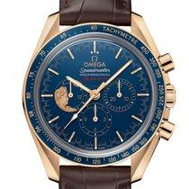 Omega Oro amarillo Cuerda manual Azul 42mm nuevo Speedmaster Professional Moonwatch