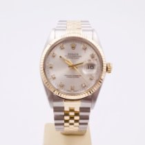 Rolex Datejust 16013 Πολύ καλό Χρυσός / Ατσάλι 36mm Αυτόματη